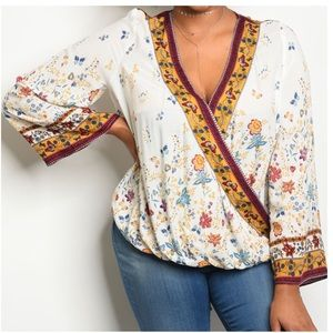 Tops - 5 for $100 🎉Host Pick🎉 Floral Blouse